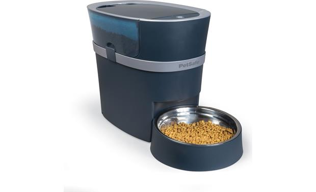 PetSafe Smart Feed See-through hopper lets you check food level at a glance