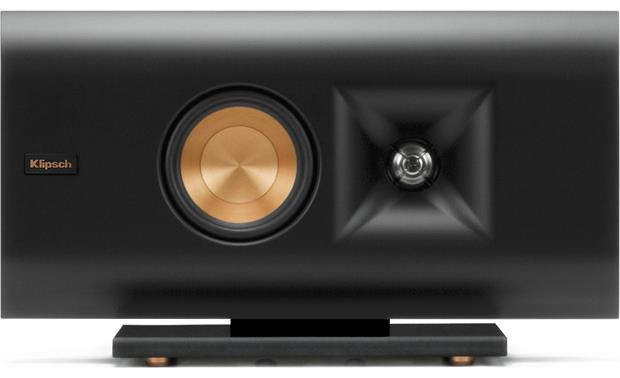 Klipsch Reference Premiere RP-140D Horizontal, with included glass base, grille off