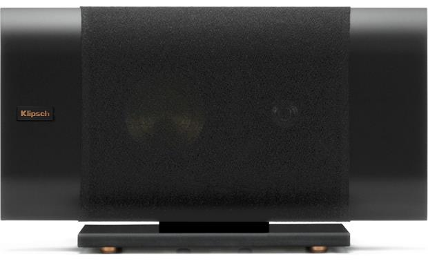 Klipsch Reference Premiere RP-140D Horizontal, with included glass base, grille on