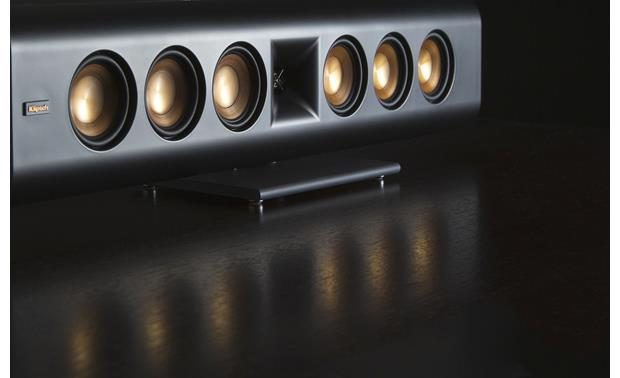 Klipsch Reference Premiere RP-640D Angled view, grille off