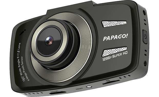 PAPAGO GoSafe 550 Papago's GoSafe 550 dash cam records in 1296p, giving you vivid footage of your drive.