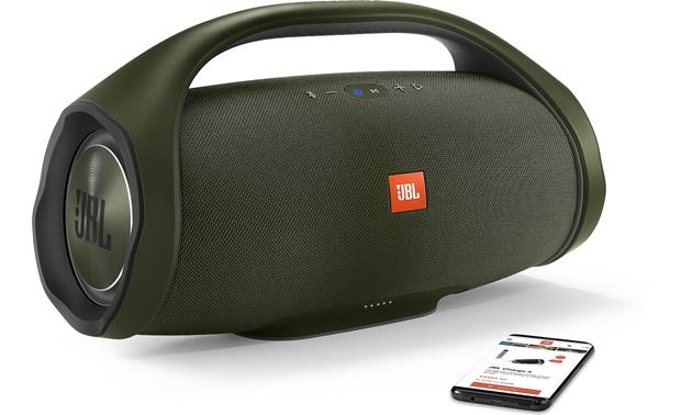 JBL Boombox Forest Green - stream wirelessly via Bluetooth (smartphone not included)