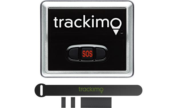 Trackimo® TRKM900 Drone Attachment Kit Trackimo GPS tracker not included (items not shown to scale)