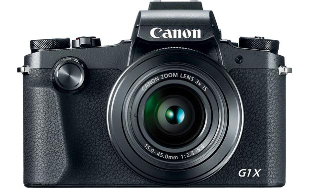 Canon PowerShot G1 X Mark III Front, straight-on