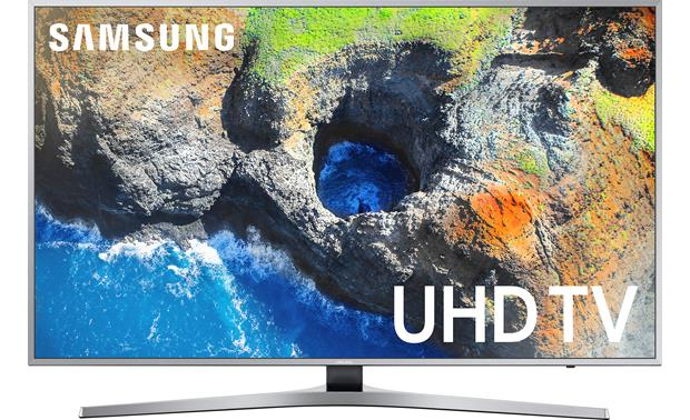 Samsung un55mu7000 55 smart led 4k ultra hd tv with hdr 2017 model samsung un55mu7000 front ccuart Choice Image
