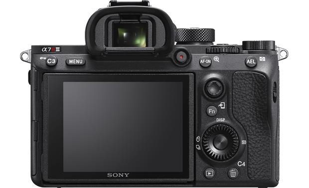 Sony Alpha a7R III (no lens included) Back