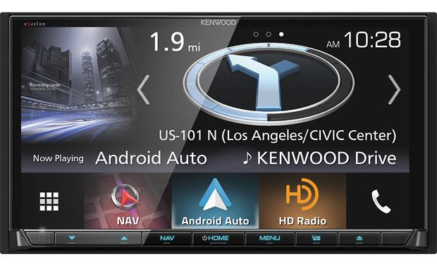 Kenwood Excelon DNX994S Front