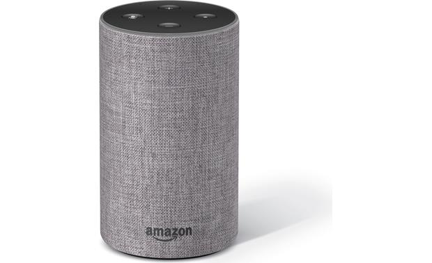 amazon echo 2nd generation heather grey fabric voice. Black Bedroom Furniture Sets. Home Design Ideas
