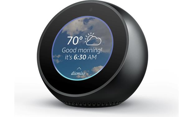 Amazon Echo Spot Compact Alexa-enabled device with video display screen