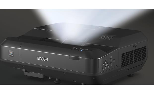 Epson Home Cinema LS100 The ultra short throw design lets you place the LS100 very close to the screen
