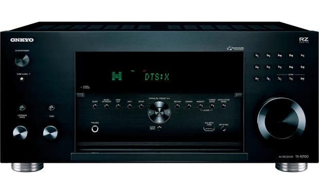 Onkyo TX-RZ920 Front-panel connections and controls