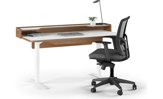 BDI Kronos 6752 Lowered position (laptop, chair and desk accents not included)