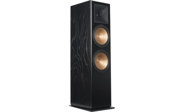 Klipsch Reference Rf 7 Iii Black Ash Floor Standing Speaker At Crutchfield