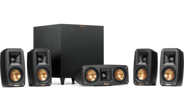 Klipsch Reference Theater Pack Shown with grilles removed