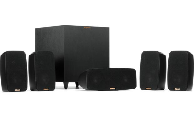 Klipsch Reference Theater Pack Shown with grilles in place