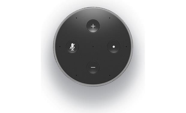 Amazon Echo (2nd Generation) Simple top-panel controls