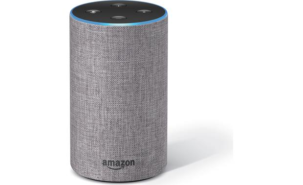 Amazon Echo (2nd Generation) Alexa's responsive blue light lets you know when the Echo is listening