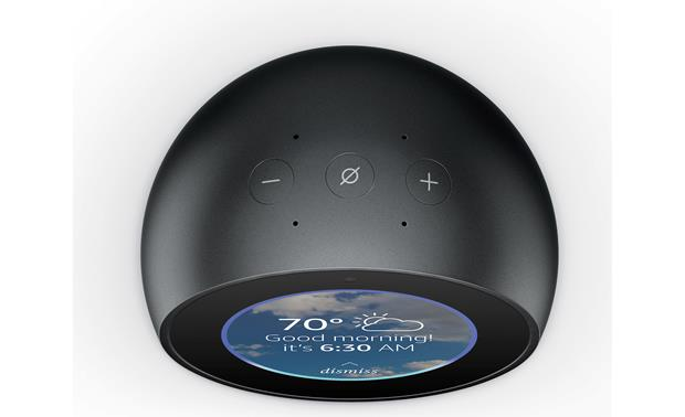 Amazon Echo Spot Top