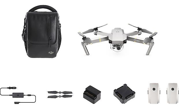 DJI Mavic Pro Platinum Fly More Combo Front