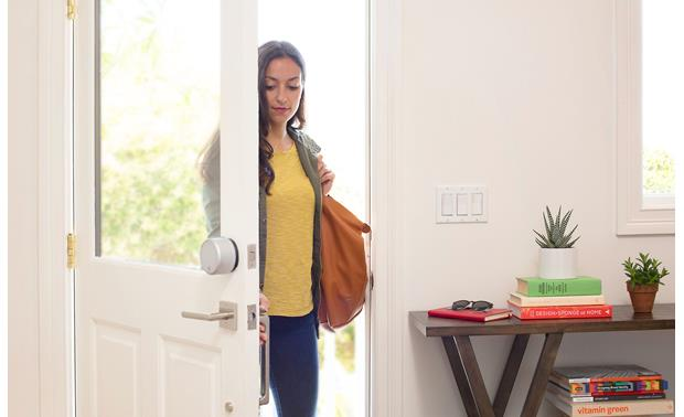 August Smart Lock Pro + Connect Control your smart lock from anywhere with the help of the August Connect Wi-Fi bridge