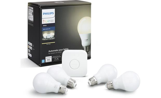 Philips Hue White E26 Starter Kit Front