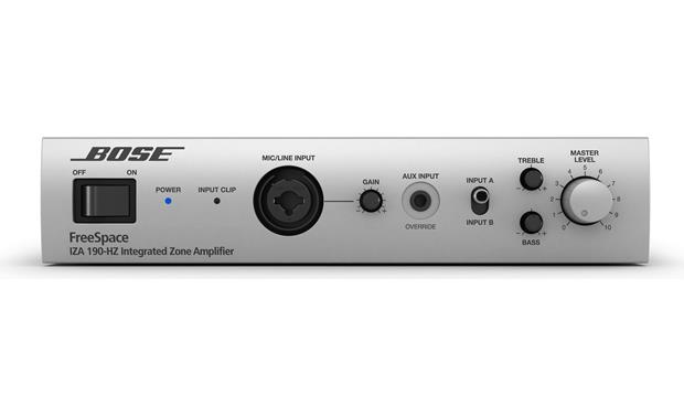 Bose® Retail Sound System Front of Bose® FreeSpace® IZA HZ-190 Zone Amplifier