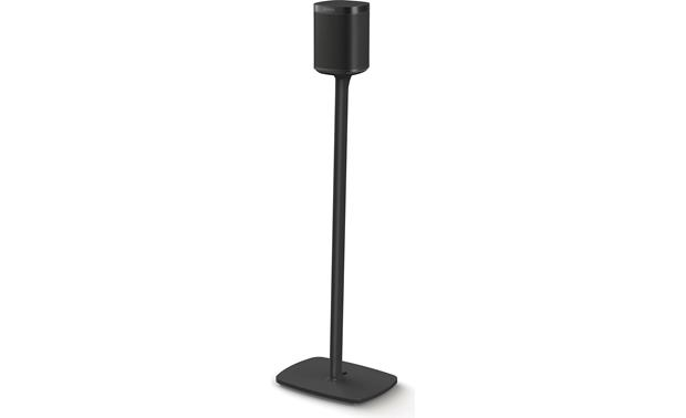 Flexson Floor Stands For Sonos One (pair) Black (speaker not included)