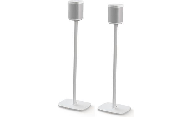 Flexson Floor Stands For Sonos One (pair) White (speakers not included)