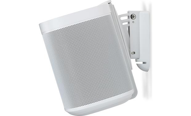 Flexson Wall Mounts for Sonos One White - tilt range: 15° down (Sonos One not included)