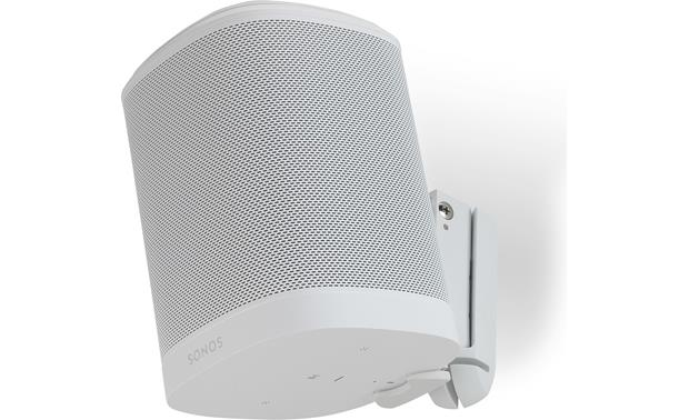 Flexson Wall Mounts for Sonos One White - can hold speaker upside down for control button access (Sonos One not included)