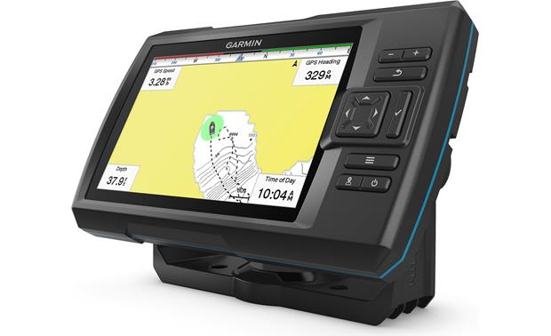 Garmin STRIKER Plus 7cv Quickdraw Countours mapping software