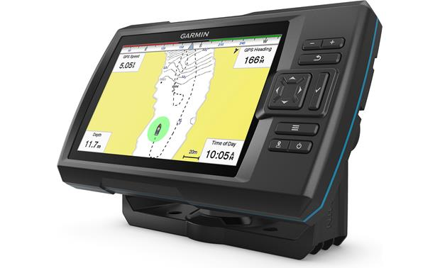 Garmin STRIKER Plus 7sv Quickdraw Contours mapping software