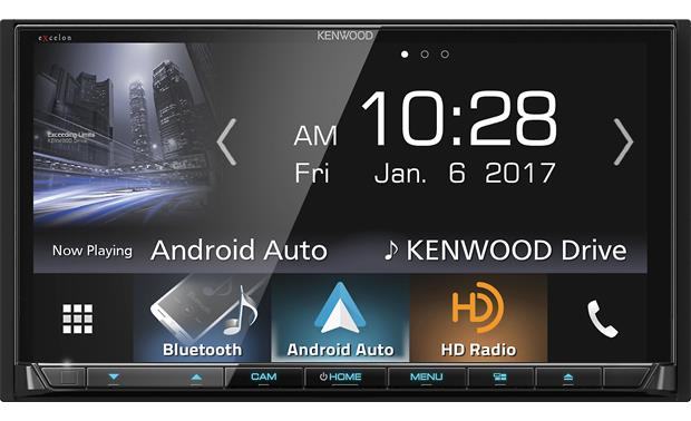 Kenwood Excelon DDX9904S Get your phone's icons and controls on the big screen using built-in Android Auto and Apple CarPlay