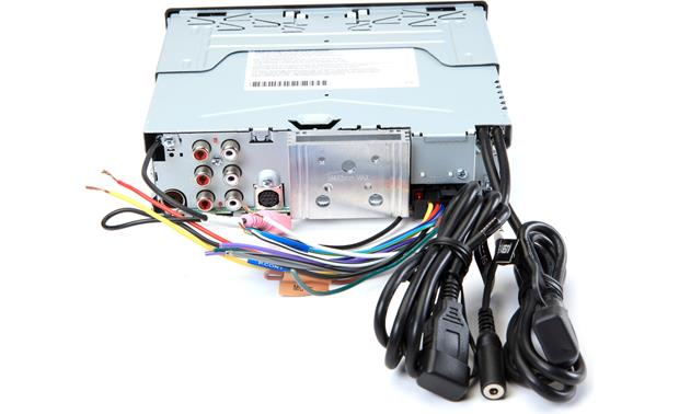 Kenwood KDC-BT772HD Back