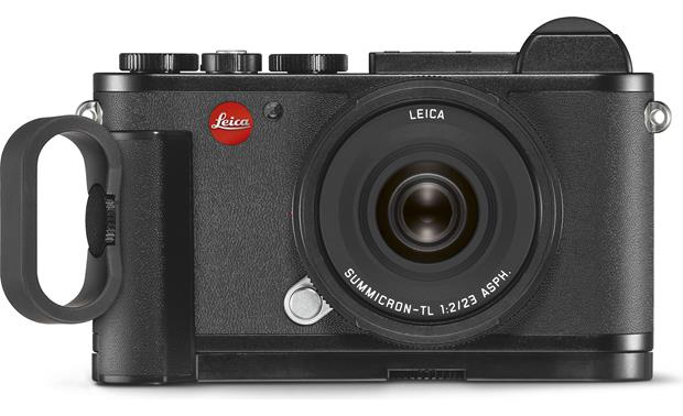 Leica CL Handgrip Shown with Leica CL mirrorless camera and finger loop (not included)