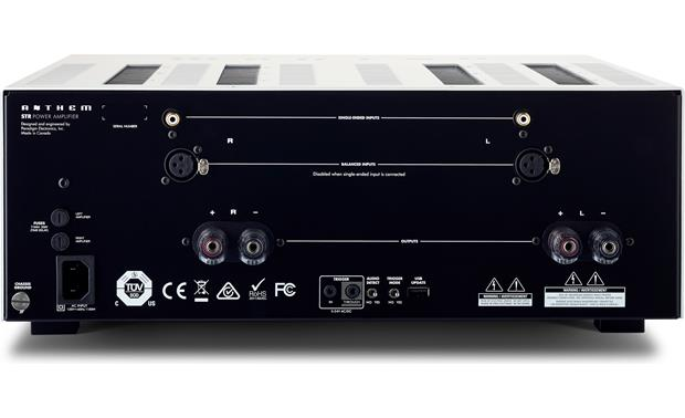 Anthem STR Power Amplifier Back