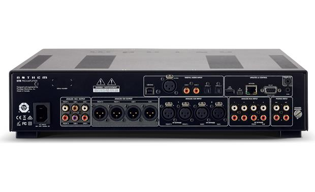 Anthem STR Preamplifier Back