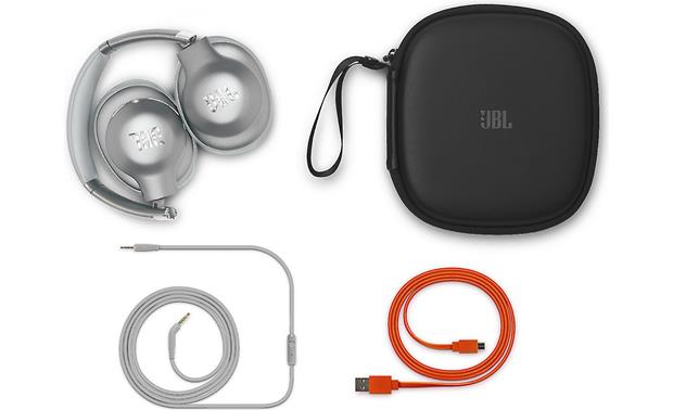 JBL Everest Elite 750NC Included case and accessories