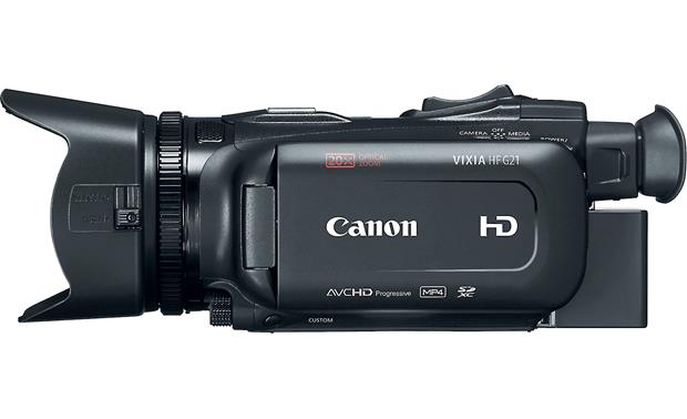 Canon VIXIA HF G21 Left side