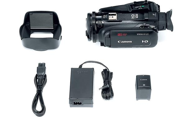 Canon VIXIA HF G21 Shown with included accessories