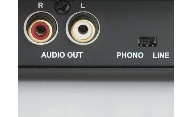 Music Hall MMF-1.5 Switchable built-in phono preamp