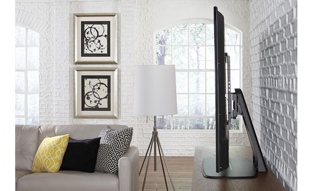 Sanus WSTV1 Conceal cables inside the stand for an uncluttered look (TV not included)