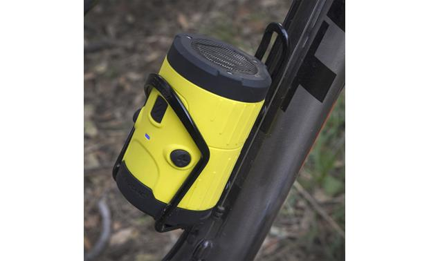 Scosche boomBOTTLE H2O Sunny Yellow - fits most bottle holders