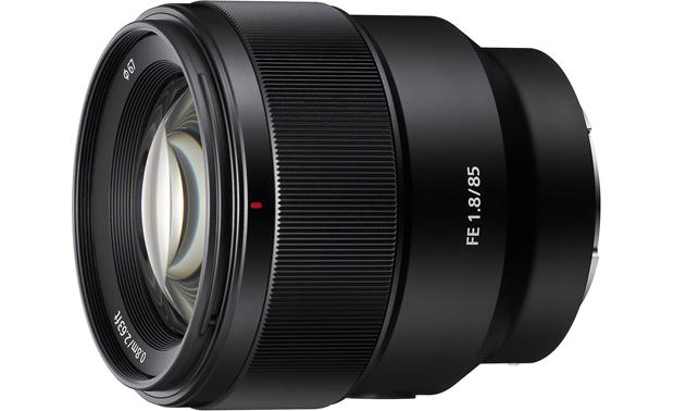 Sony SEL85F18 FE 85mm F/1.8 Front
