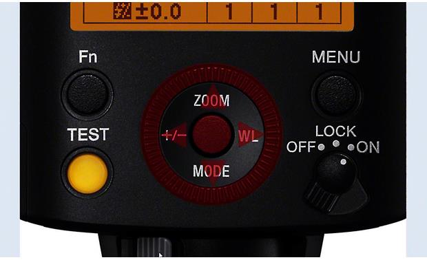 Sony HVL-F45RM Assignable custom funtions