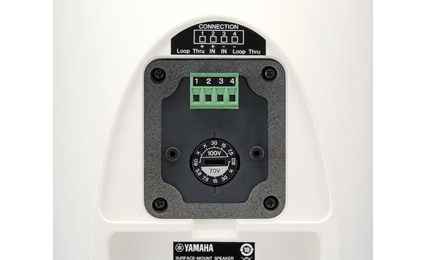 Yamaha VXS5 30, 15, 7.5 and 3.8-watt taps for commercial use