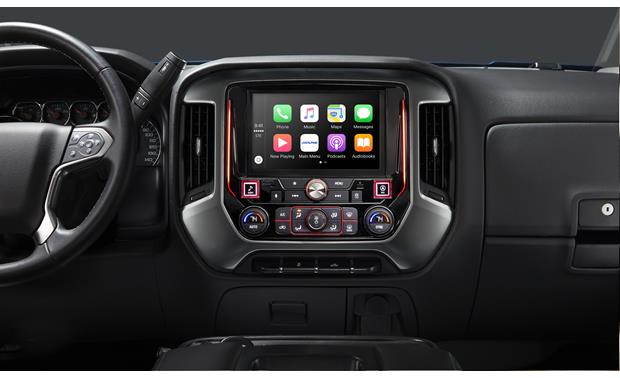 Alpine i209-GM In-Dash Restyle System Seamlessly integrate this Alpine Restyle receiver into your Silverado or Sierra dash.