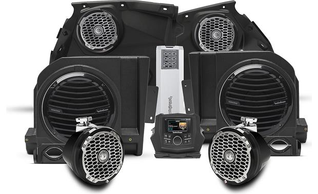 Rockford Fosgate X3-STAGE5 Front