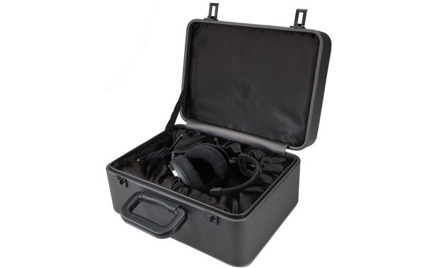 Audio-Technica ATH-ADX5000 Latching, luggage-style storage case with padded velvet interior
