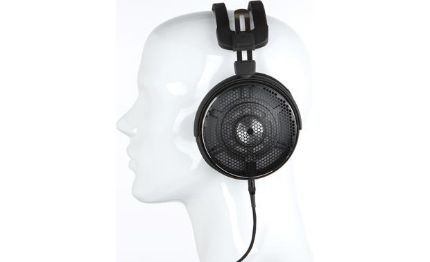 Audio-Technica ATH-ADX5000 Mannequin shown for fit and scale